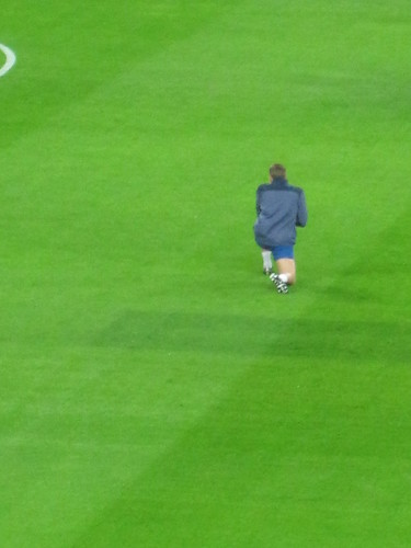 England v France at Wembley: Stevie G
