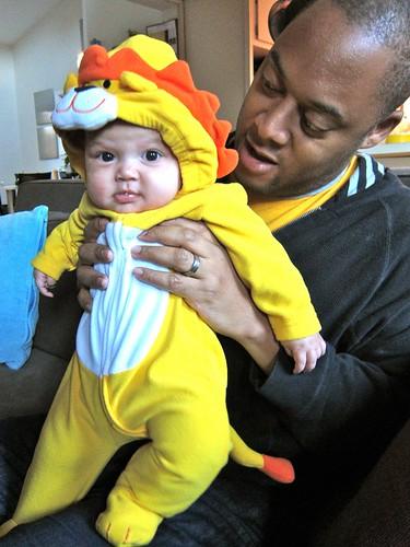 Z's Halloween Costume
