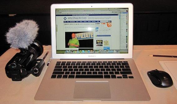 My Road Warrior Blogging Setup