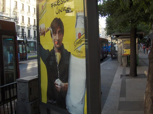 oscar winner shills for schweppes