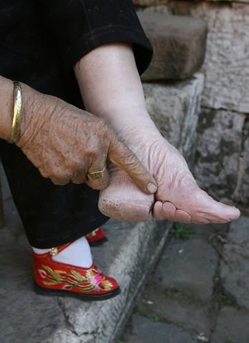Japanese Foot Binding