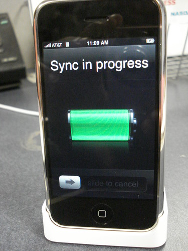 iPhone sync