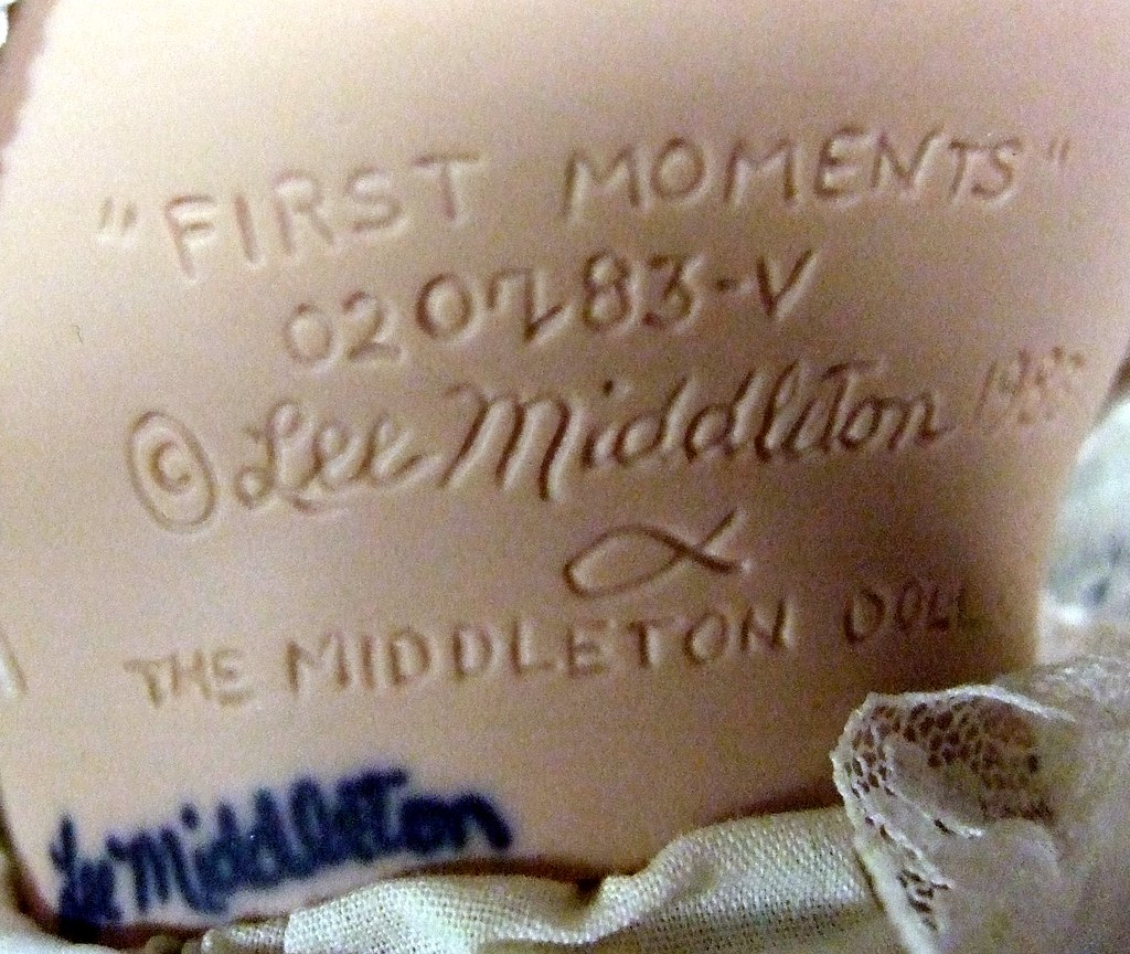 """1983 Lee Middleton """"First Moments"""""""