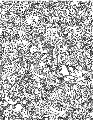 Trippy Mushroom Coloring Pages This photo also appear