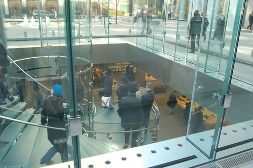 escaleras Apple Store de Nueva York