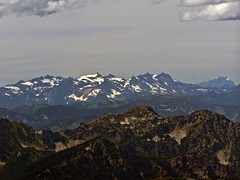Monte Cristo Mountains from Mt Howard
