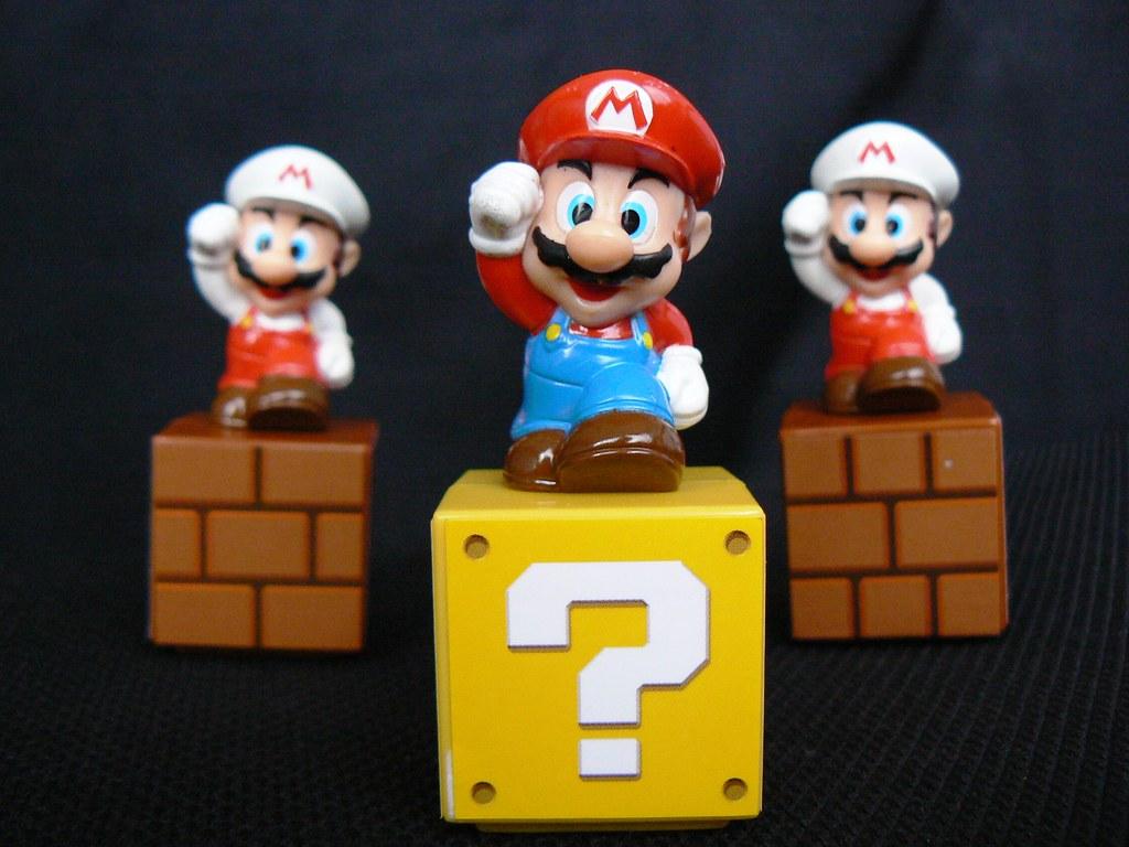 Juguetito de Super Mario Bros