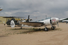 Beechcraft UC-45J Expeditor (twm1340) Tags: arizona museum vintage tucson space air az pima beechcraft beech expeditor d18 uc45j uc45 r985