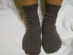Carbon Twist socks
