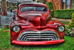 47 Chevy Sedan Delivery (Bill Strong) Tags: chevrolet wow gm detroit chevy hdr 1947 2007 chev foxandhounds photomatix woodwarddreamcruise d80 1exp gmfyi 4elvis