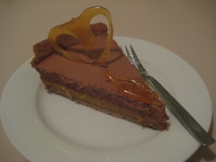 Milk Chocolate & Caramel Tart 1
