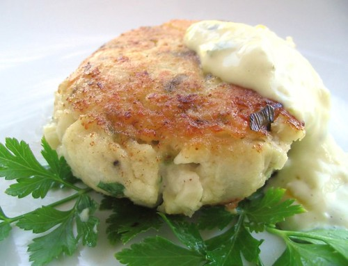 Fish Cake or Faux Crab Cake