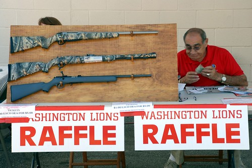 ...or win a rifle. At the raffle.