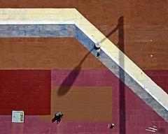 (ubik14) Tags: shadow wall maryland baltimore
