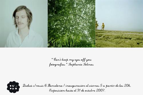 Exposición Stéphanie Solinas en Duduá