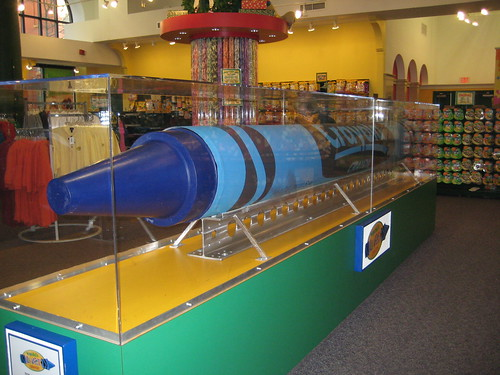 Big Blue at Crayola Store