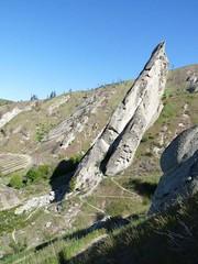 More climbing pinnacles