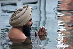 Amrit Sarovar (bag_lady) Tags: india water pool reflections indian prayer holy devotion turban sikh bathing punjab amritsar sikhism goldentemple darbarsahib bluelist amritsarovar poolofnectar earthasia unseen~india unseen~asia