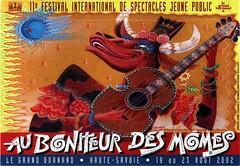 Affiche Festival Au Bonheur des Momes-2002