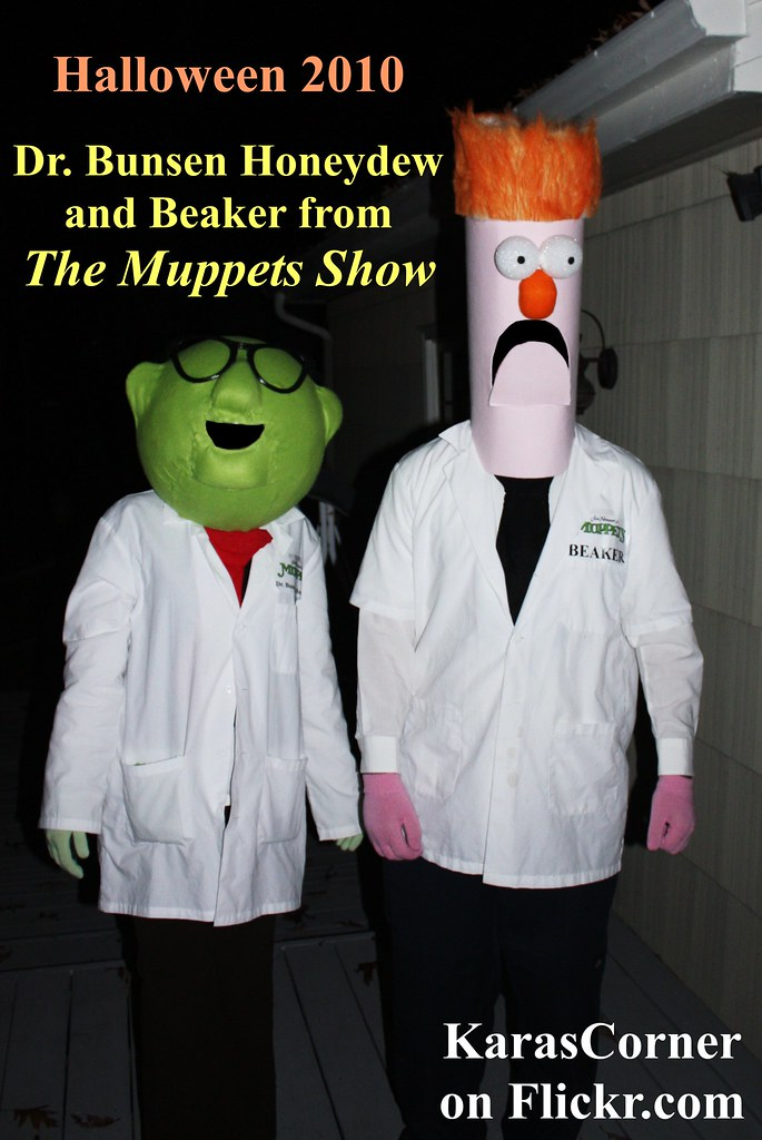 Dr. Bunsen Honeydew and Beaker from