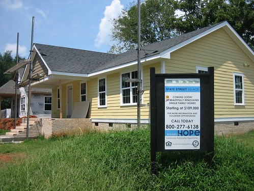 a Builders of Hope home in Raleigh's State Street Village (by: Builders of Hope)