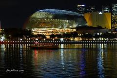 marina bay (drade388) Tags: singapore esplanade merlion marinabay marinasands dradelina panasoniclumixlx5