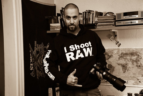 I Shoot RAW Hoodie