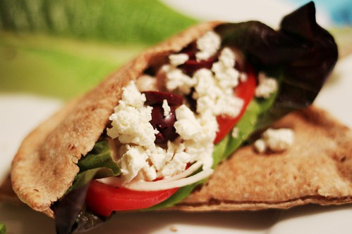 loaded pita pockets