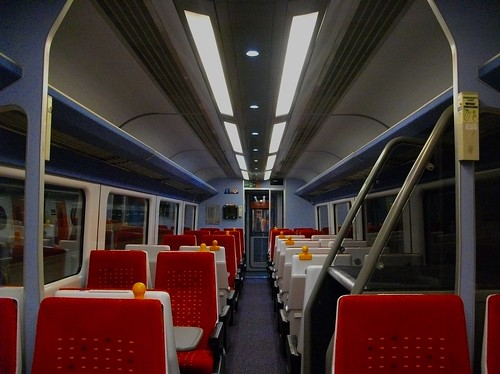 Private Standard (2nd) Class Carriage on the Midland Mainline (UK)