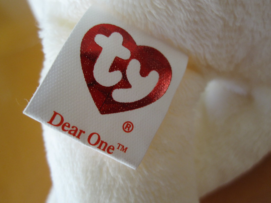 Ty Dear One the Bear Beanie Baby Tush Tag (jessicagreen0202) Tags  bear baby ae9677858411