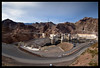 Hoover Dam from Arizona (Ledio (mostly away)) Tags: arizona d50 landscape nikon desert lasvegas dam nevada hooverdam nikkor1855mm peisazh nikonstunninggallery piesazh