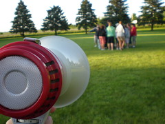 Photo of Megaphone and Campers