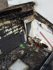 Feuer in Hinterhaus Welritzstr. 11.06.07