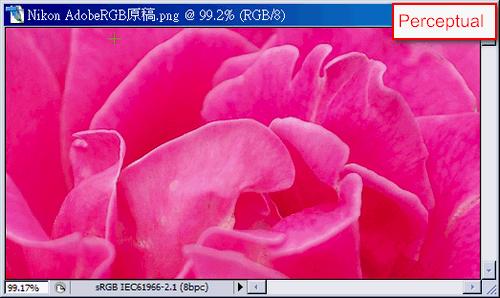convert color space(Perceptual)
