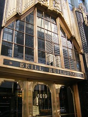 brill building by traffic sounds, on Flickr