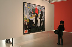 documenta 12 | Kerry James Marshall / Could This Be Love | 1992 | Fridericianum ground floor