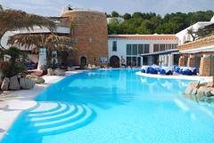 Hotel Hacienda, Ibiza (juliaclairejackson) Tags: vacation holiday tower pool june swim island spain quiet terrace swimmingpool spanish ibiza moorish eivissa relaxation tranquil balearic balearics hotelhacienda