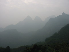 Wudang mountain mists