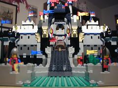 Halcyon Castle version 1 (SavaTheAggie) Tags: castle lego knights keep drawbridge fortress