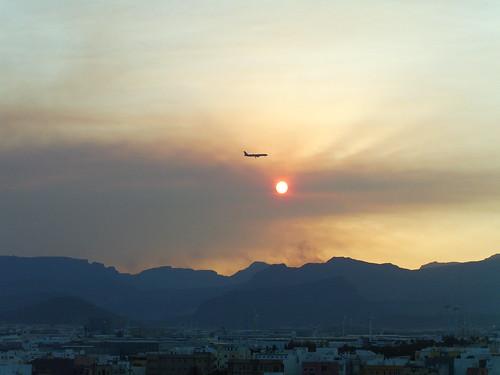 Fires in Gran Canaria