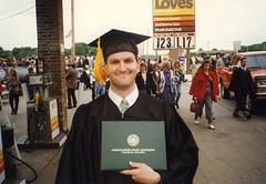 graduation (elmofromok) Tags: college me am university dorm graduation 2006 dork such northeastern oldstuff tahlequah chadhenderson elmofromok
