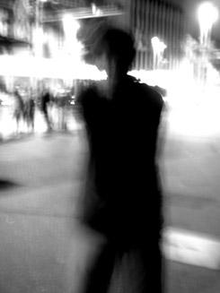 stranger in the street