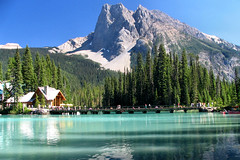 Emerald Lake and Lodge (OldDogNewTrick) Tags: britishcolumbia emeraldlake yohonationalpark naturesfinest calgaryevergreens abigfave standardtouristview