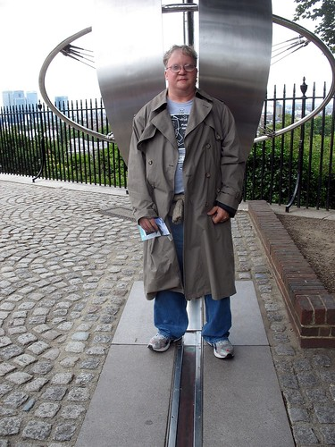Jim on the Prime Meridian