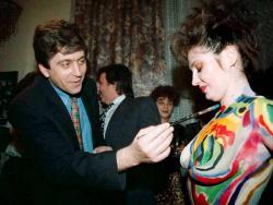 Георги Първанов се пробва в модния бодиарт