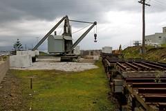 steam crane (yewenyi) Tags: trip metal crane australia steam nsw newsouthwales aus wagons wollongong oceania illawarra portkembla auspctagged pc2505 spbdaytripii