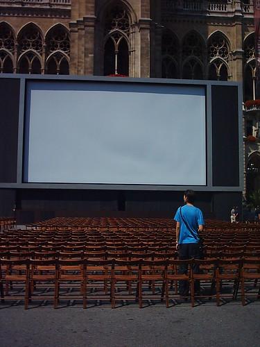Cine en el Ayuntamiento de Viena
