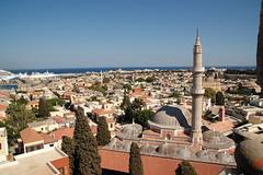Rhodes City from Clock tower (Martin Hronský) Tags: holiday geotagged island nikon europe martin d70s greece rodos rhodes rhodos vacantion majka amazingtalent hronsky