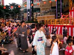 Yukata Dancers
