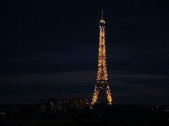 Eiffel Tower from room